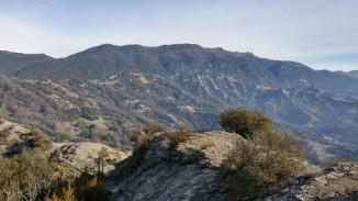 Serra de Bellmunt des del Castell