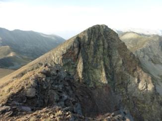 Vista del cim Sud (2.822 m)