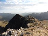 Vista del cim Nord (2.815 m)