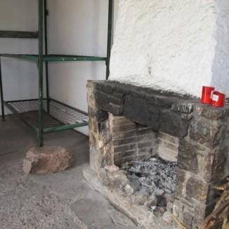 Interior refugi St Jordi