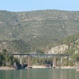 Pont del tren amb ventre de peix