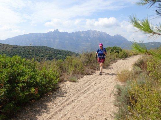 Camí sorrent sobre el Rasot del Puig
