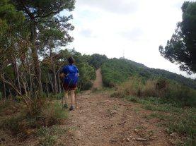 Cap al turó de St. Pere Màrtir