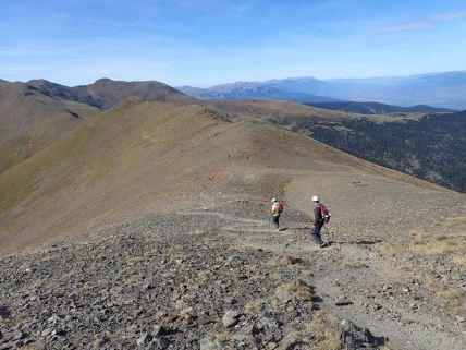 Baixant del Puigmal en direcció al Pic Petit del Segre