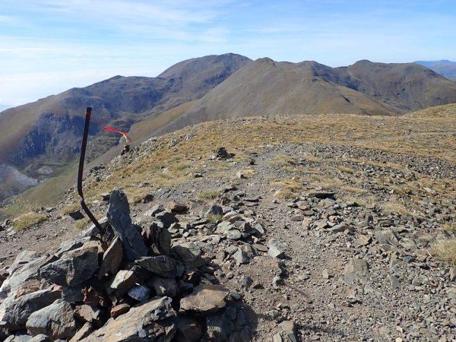 Pic de Finestrelles mirant al Puigmal