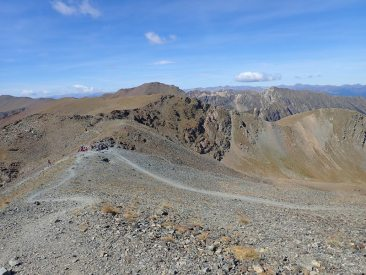 Coll de Noucreus des del cim de la Fossa del Gegant